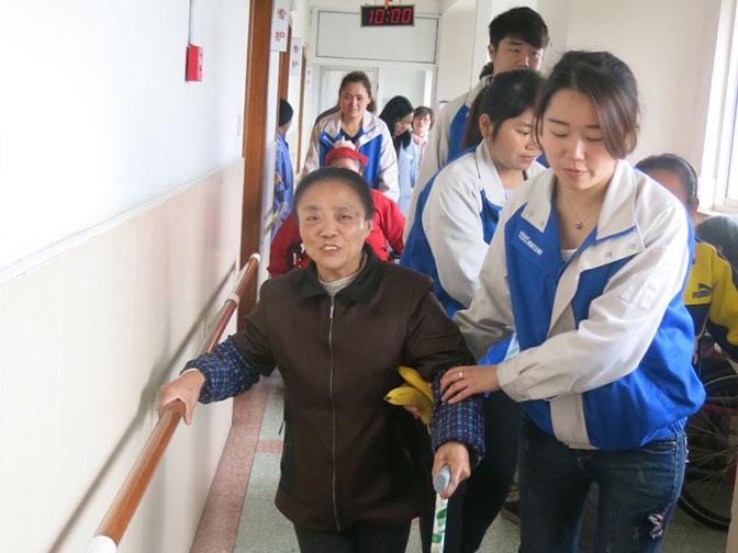 DENAIR Employés ont Allé à Bien-être de Shanghai de Quatrième Fois