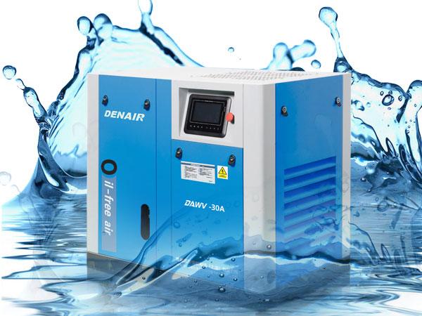 DENAIR Compresseur d'air sans huile lubrifiée à l'eau