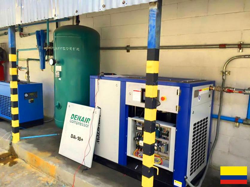 DENAIR Compresseur D'air à Économie D'énergie en Colombie